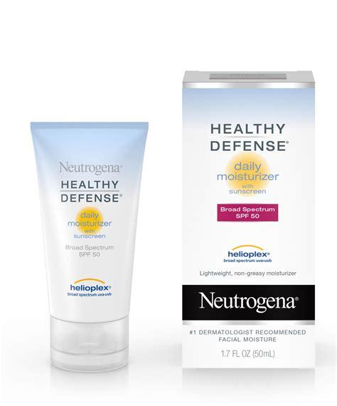 Healthy Defense® Daily Moisturizer with SPF 50 | Neutrogena®