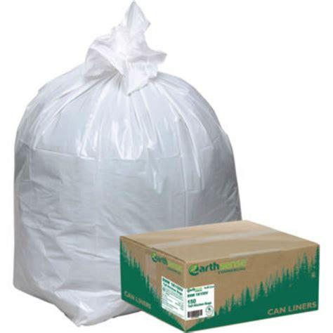 kitchen trash bags earthsense recycled 150ct kitchen 13 gallon garbage