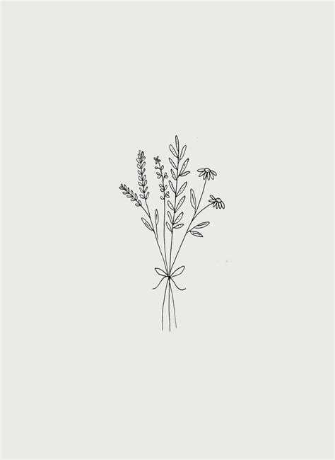 Pin by wallpapers on pretty wallpapers | Wildflower tattoo, Small tattoos, Flower bouquet tattoo