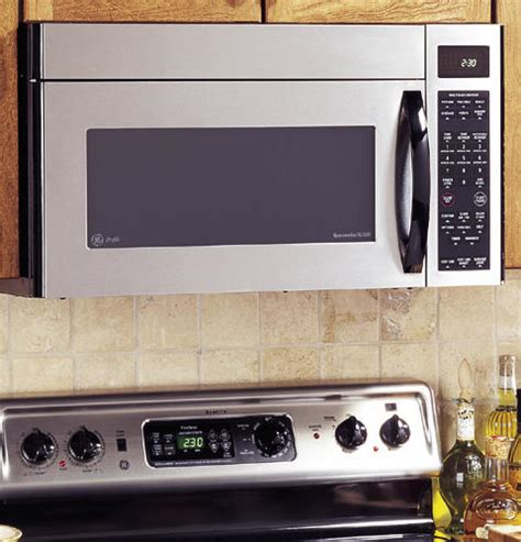 ge profile spacemaker xl microwave oven   venting  watts jvmsf ge