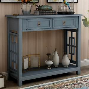Console, Tables, With, Drawers, Btmway, Wood, Entrance, Console, Table, For, Entryway, Farmhouse, Entryway