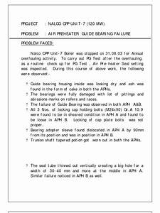 Aph Guide Bearing Failure