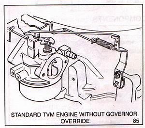 Tecumseh Carburetor Linkage Picture