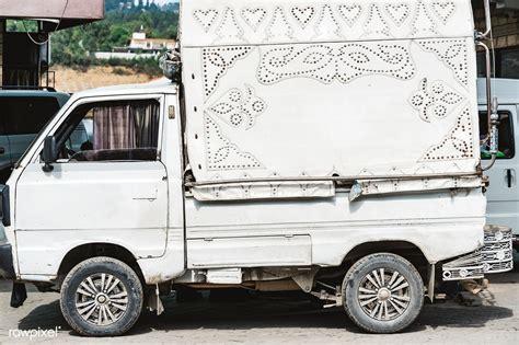 rawpixel mini premium pakistan street parked truck