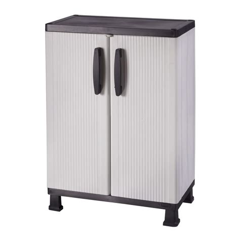 plastic black free standing cabinets garage cabinets