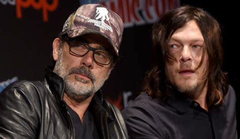 'the Walking Dead's' Norman Reedus Is Back In Black With