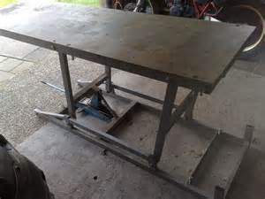 Homemade Motorcycle Lift Table Plans