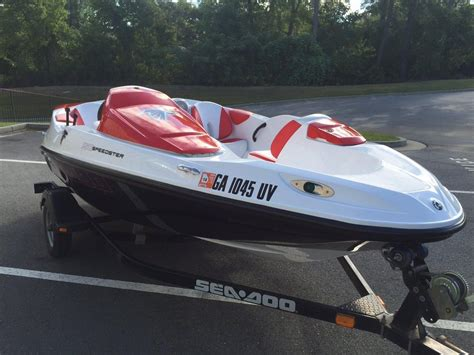 Seadoo Hits Boat by 2011 Used Sea Doo 150 Speedster Jet Boat For Sale