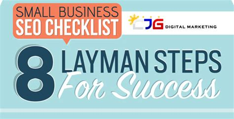 small business seo weekly infographic small business seo checklist 8