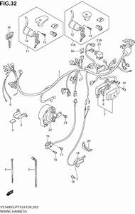 Wiring Harness  U0434 U043b U044f Vs1400glp Intruder Suzuki