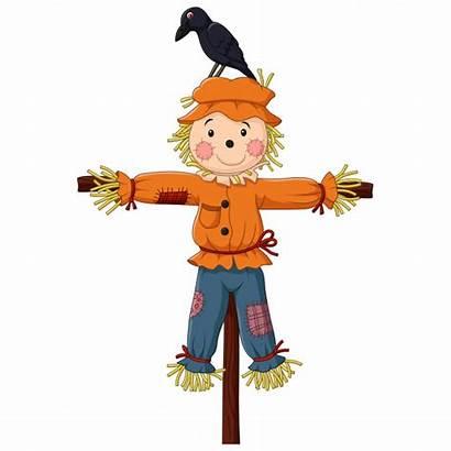Scarecrow Cartoon Vogelscheuche Spaventapasseri Vogelverschrikker Gratis Premium
