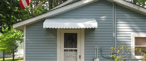front door awnings  residential muskegon awning