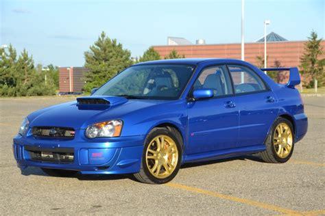 Original Owner 2004 Subaru Impreza Wrx Sti For Sale On Bat