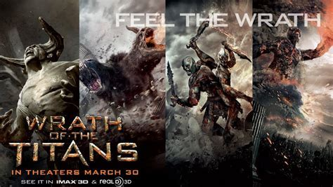 Wrath Of The Titans Une Deuxi Me Bande Annonce Oblivion