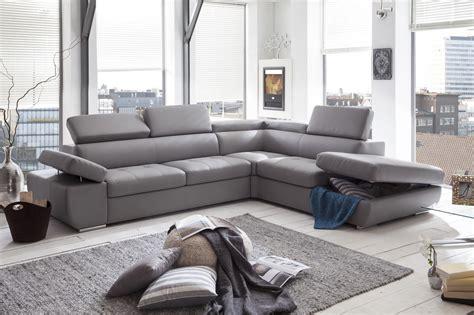 canapé gris simili cuir canapé d 39 angle simili cuir gris canapé idées de