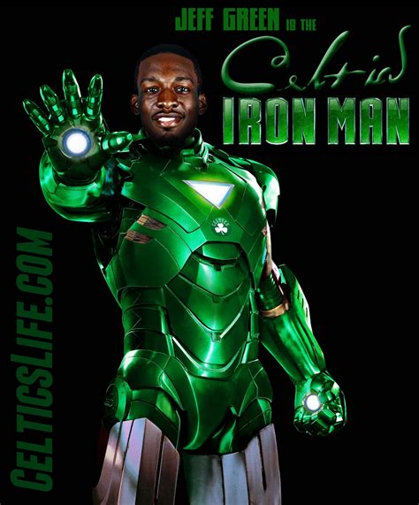 jeff green has probably literally turned into iron