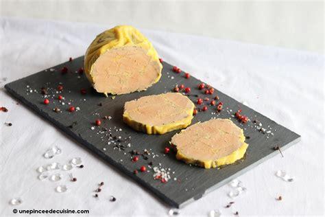 cuisine à la vapeur recettes foie gras maison à la vapeur recette réalisée au cook