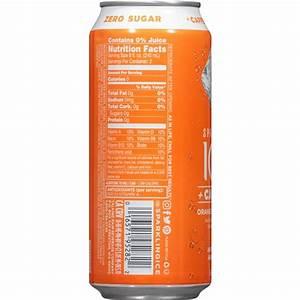 Sparkling Ice  Caffeine Orange Passionfruit With Antioxidants And Vitamins