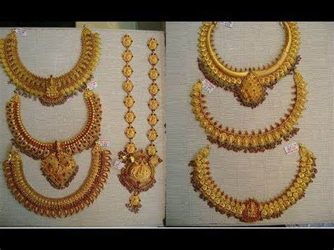EPISODE=482 Traditional Gold Antique Jewellery Designs