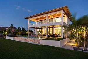 Modern, Beach, Bungalow, -, Tropical, -, Exterior, -, Tampa
