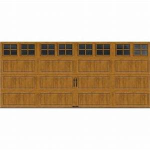 clopay gallery collection 16 ft x 7 ft 184 r value With 16 x 9 insulated garage door