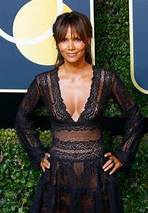 HALLE BERRY at 75th Annual Golden Globe Awards in Beverly ...