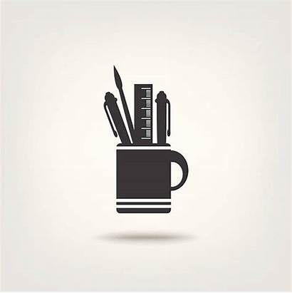 Icon Stationery Officer Clip Illustrations Depositphotos