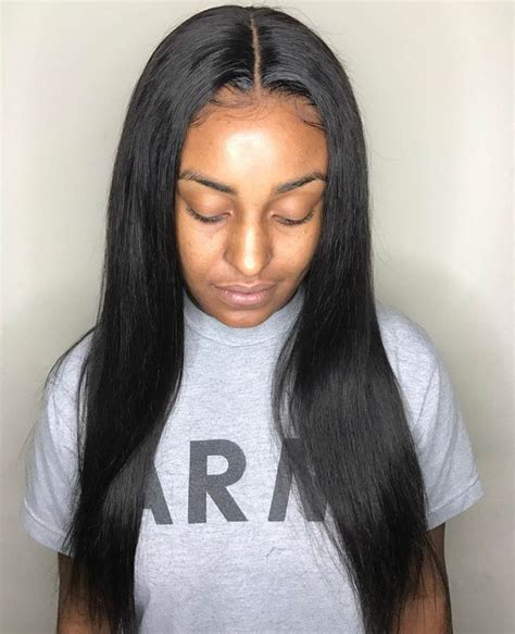 Hairstyles With Weave Sewed In by Sew In Hairstyles And Middle Bob Hair Styles