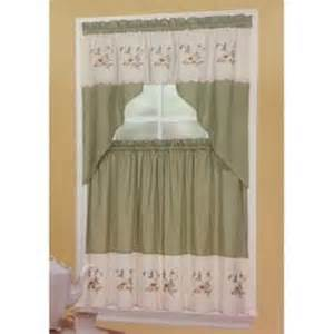 kitchen curtains and swags and valances from sears com