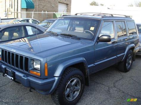 gunmetal blue jeep 1998 gunmetal pearl jeep cherokee classic 4x4 29762572