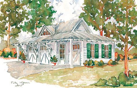 Southern Living Garage Plans by Tideland Garage Southern Living House Plans