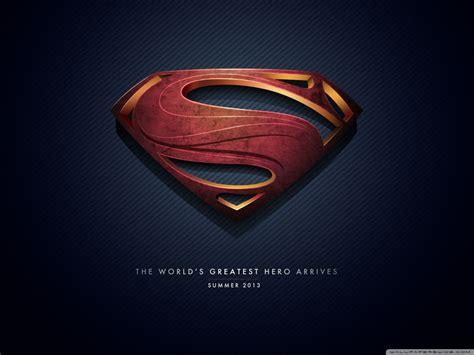 Superman Man Of Steel Logo HD Wallpaper, Background Images