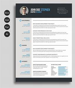 12 free and impressive cv resume templates in ms word With free resume format in word