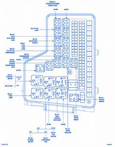 Dodge Cummins Integrated 2006 Fuse Box  Block Circuit Breaker Diagram