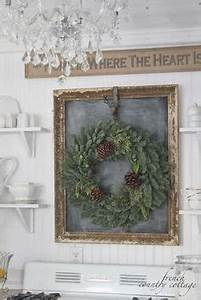 Decor Inspiration chalkboard in antique frame accented
