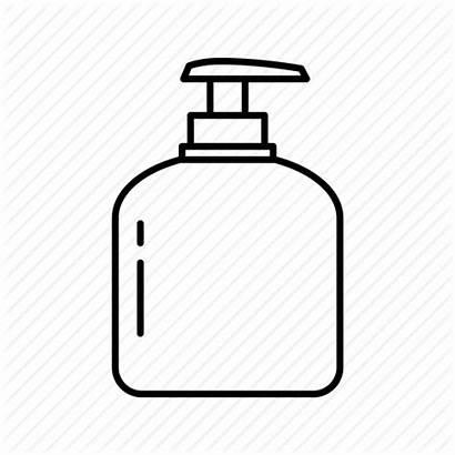 Soap Bottle Liquid Icon Hygiene Transparent Bar