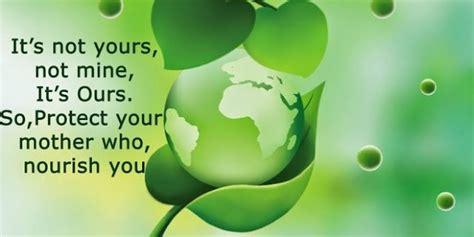 world environment day slogans  quotes  environment