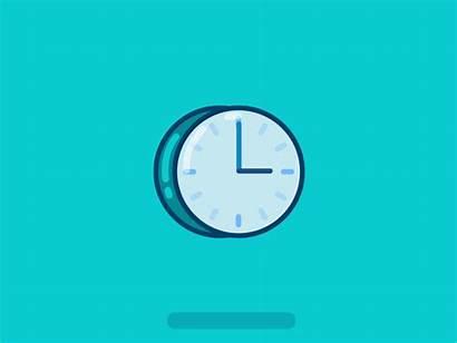 Icon Clock Loop Dribbble 3rd
