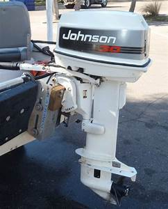 30 Hp Johnson Long Shaft Outboard Boat Motor For Sale