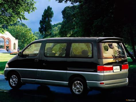 Toyota Hiace Wallpapers by Toyota Hiace Regius 1997 99 Wallpapers 1600x1200