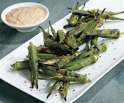 how to grill okra grilled okra