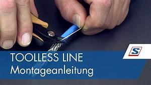 Rj45 Stecker Crimpen Anleitung : toolless line rj45 buchse montageanleitungen von schrack technik youtube ~ Eleganceandgraceweddings.com Haus und Dekorationen