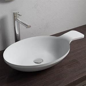 Vasque Originale : vasque poser originale en solid surface vasque ~ Dode.kayakingforconservation.com Idées de Décoration