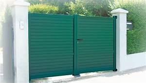 Portail Aluminium Pas Cher : portail aluminium standard domeau concept ~ Melissatoandfro.com Idées de Décoration