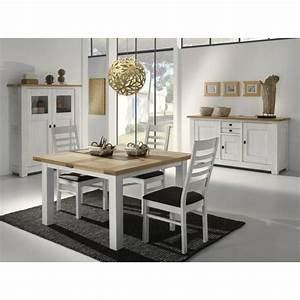 Table salle a manger carree blanche table verre avec