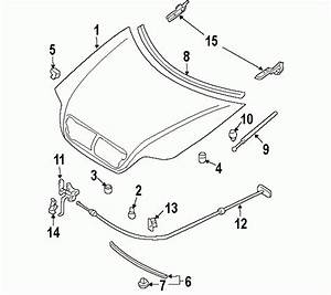 2005 Kia Sedona Parts Diagram