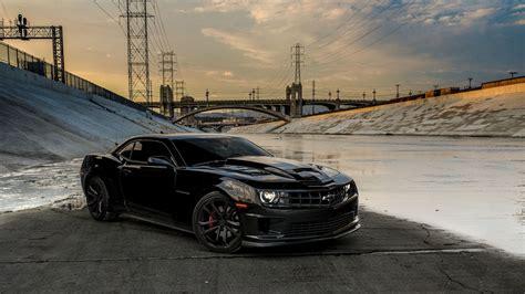 Chevrolet Camaro Ss Black Image 19