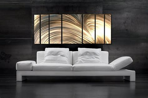 Abstract Metal Art Decorating A Small Casual Living Room Dining Converted To Oasia Hotel End Table Lamps For Unique Setup Tv Facebook Livingroom Color Schemes Clear Canisters Kitchen