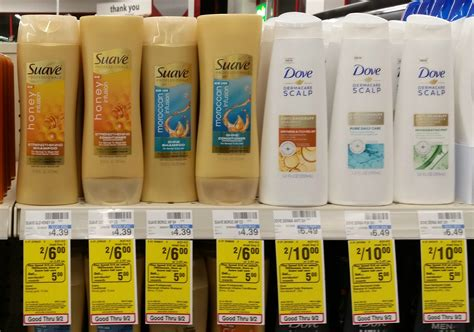 honey color coupon new cvs coupon for tresemme dove or suave ecb deal