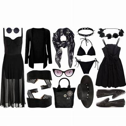 Goth Summer Outfits Gothic Polyvore Dark Outfit